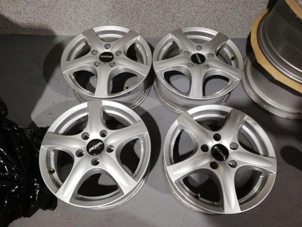 ZIMA 4 x RONAL 5x114 Mazda, Toyota, Renault jak nowe !