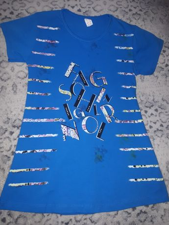 НОВАЯ футболка на девочку 11-12 лет. Турция