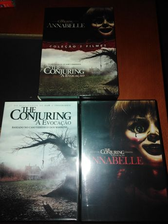 The conjuring Annabelle dvd