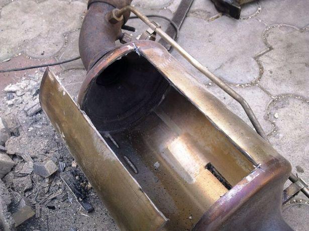 Программное и механическое удаление сажевого фильтра, (катализатора)