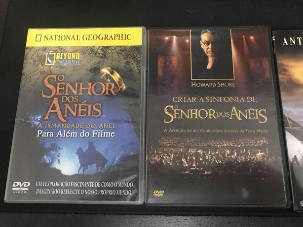 Pack DVD - Jane Austen, Senhor dos Anéis
