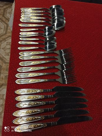 Ложки, вилки, ножи и чайные ложечки