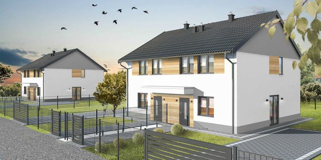 Dom jednorodzinny w zabudowie bliźniaczej, Wola Rzędzińska