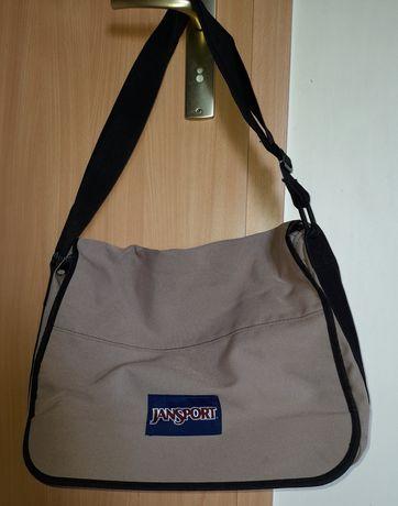 Jansport torba torebka beżowa
