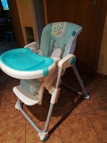Krzesełko, fotelik do karmienia Lolly baby +wkładka, miętowe