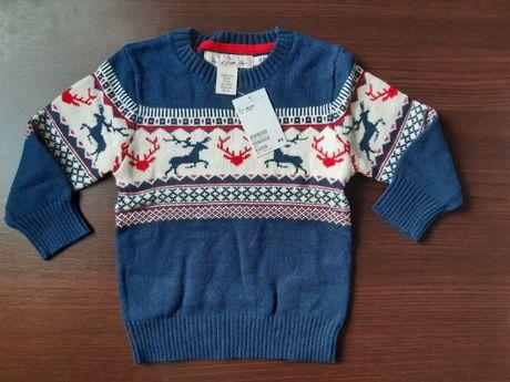 Sweter chłopięcy 98/104