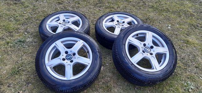 Koła alufelgi 15 cali 4x100 opony letnie Bridgeston Astra Meriva Corsa