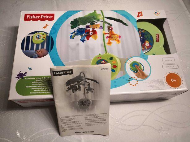Fisher-Price Las Tropikalny K3799 Rainforest + PILOT