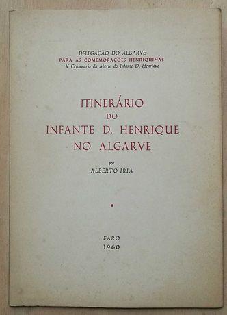 itinerário do infante d.henrique no algarve, alberto iria