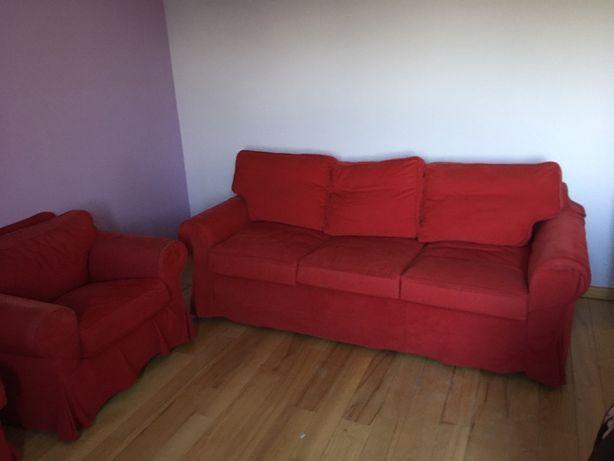 EKTOPR, Sofa rozkładana i fotel