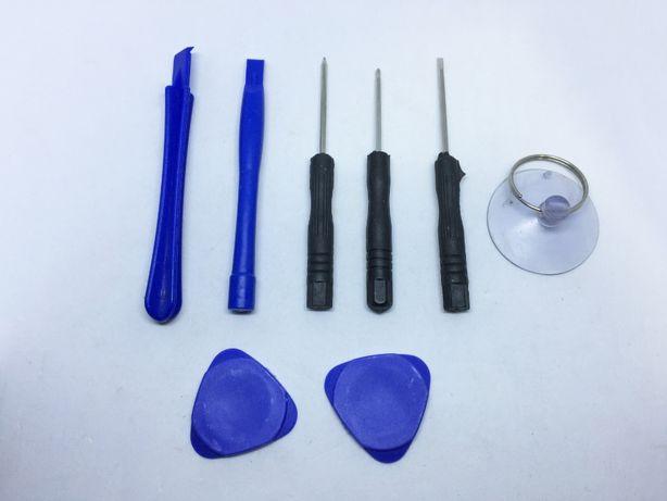 Kit de ferramentas para abertura/reparação de Smartphones / iPhones