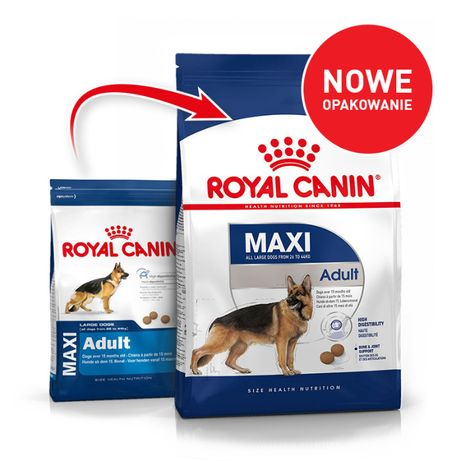 Karma dla psa Royal Canin Maxi Adult 15 kg OKAZJA!