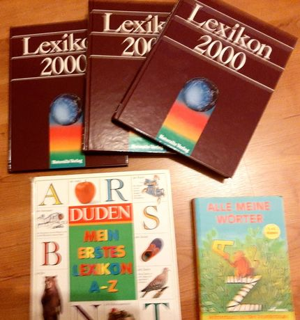 Duden_Mein Erstes Lexikon + Alle Meine Wörter + Lexicon 2000 (3 vol.)
