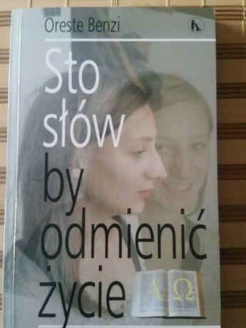Sto słów by odmienić życie Oreste Benzi książka religijna