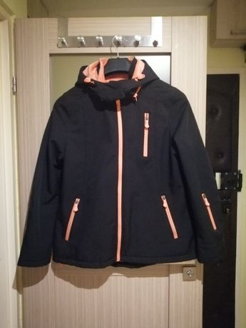 Ciepła kurtka softshell XL bdb