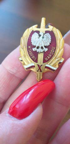 Wojskowy orzełek WSN