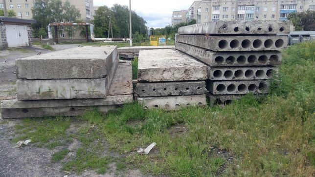 Продам плиты перекрытия ПП ПКЖ фундаментные блоки