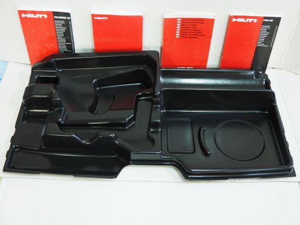 HILTI DD 120 wkład do wiertnica otwornica walizka wytłoczka