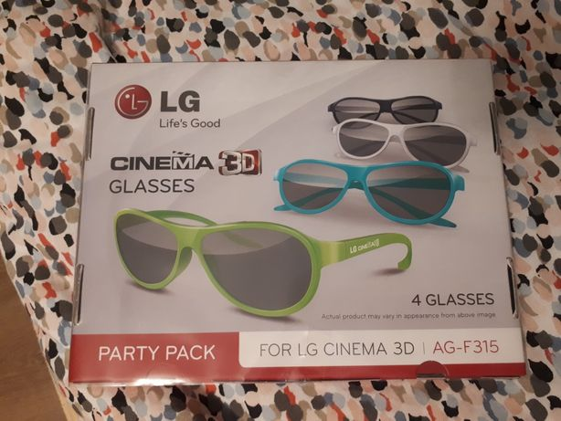 Okulary LG Cinema 3D AG-F315