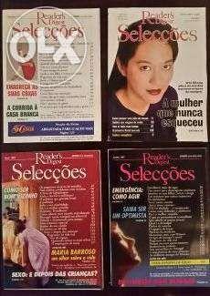 Conjunto de Revistas das Selecções do Reader's Digest (1991-a-1998)