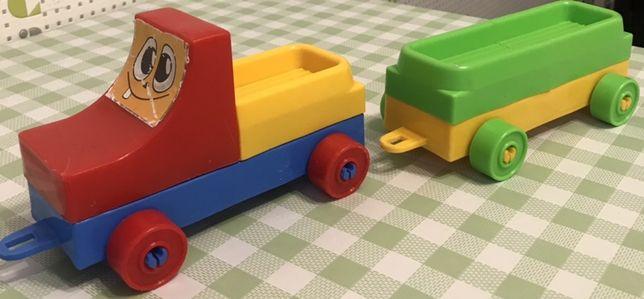 Конструктор паровоз поезд