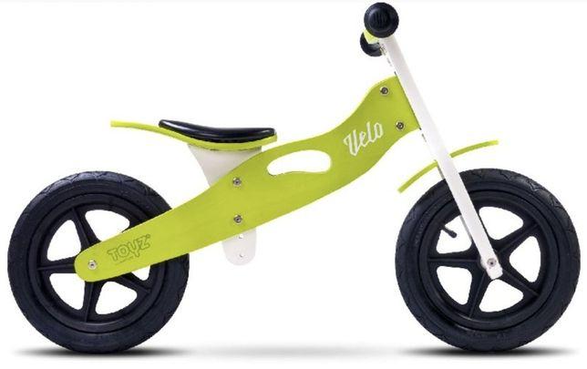 Rowerek biegowy Toyz Velo Zielony NOWY Drewniany