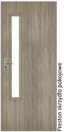 Drzwi wewnętrzne Preston od ręki szerokości od 60 do 90