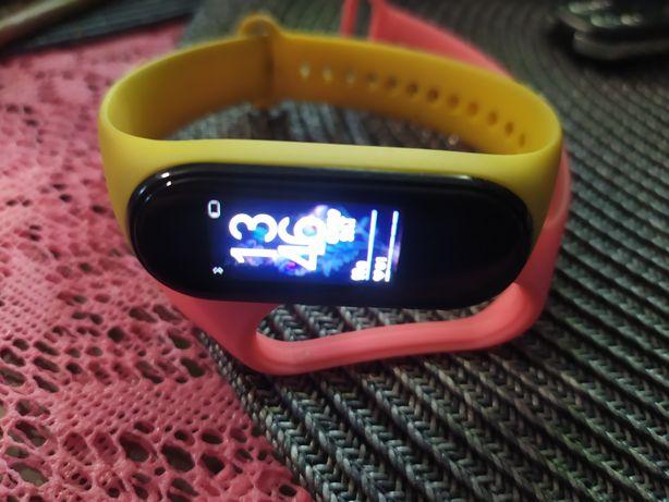 Opaska MiBand4 dwie bransoletki