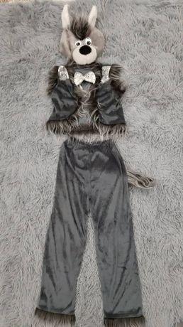 Костюм Волка карнавальный (Волк, Вовк) на мальчика 5 - 8 лет, утренник