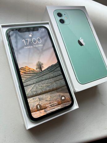 Iphone 11 128gb green бирюзовый как новий