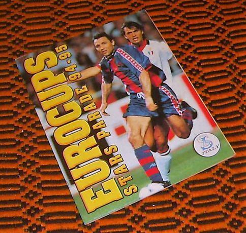 Caderneta EUROCUPS 94-95 (SL Italy)