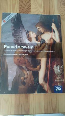 Podręcznik do języka polskiego i technikum kl.1 cześć 1