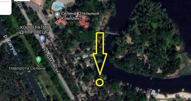 Здам в оренду дачу в кооп. «Дніпро» поруч  з «Селеною».