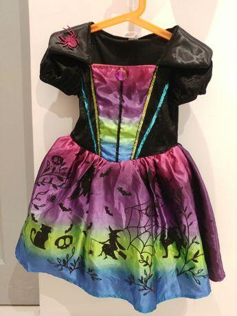 Sukienka strój przebranie kostium dla dziewczynki karnawał 95-105