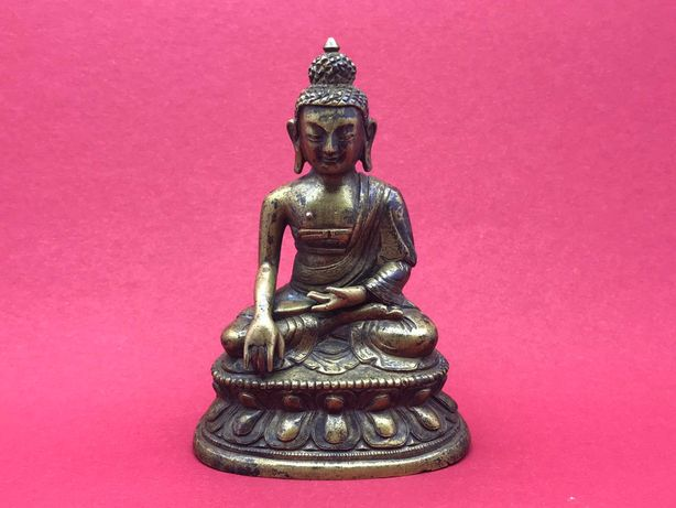 Бронзовая статуэтка Будды,начала 19-го века