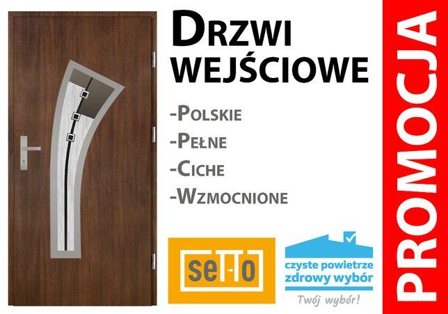Solidne drzwi wejściowe DO DOMU. DARMOWY POMIAR, dosawa, montaż!!!