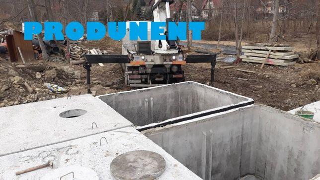 Betonowe szambo-13000l na gnojowice Zbiornik solidny, szczelny