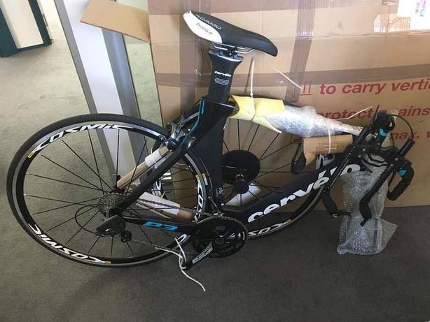 Bicicleta nova triatlo contra-relógio Cervélo P3 Shimano Ultegra 6800