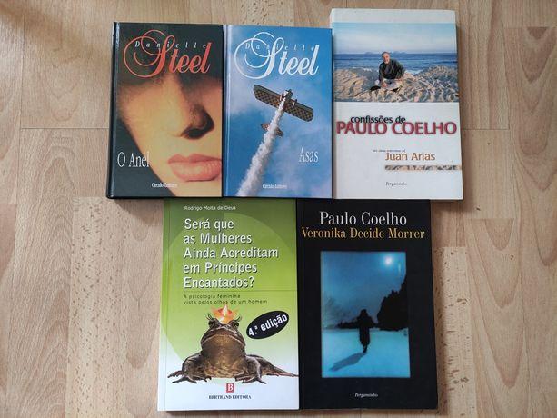 Paulo Coelho, Danielle Steel, e mais...