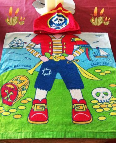 Ponczo plażowe-ręcznik