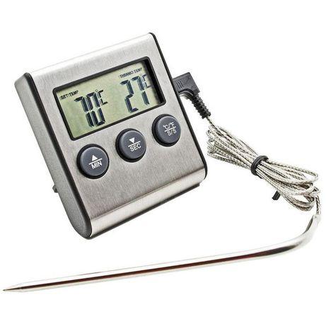 Цифровой термометр TP 700 для духовки печи с выносным датчиком ТР 700