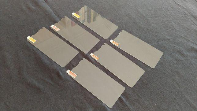 Novo Conjunto 6 Protectores de ecrã LG V30 vidro temperado Dureza 9H