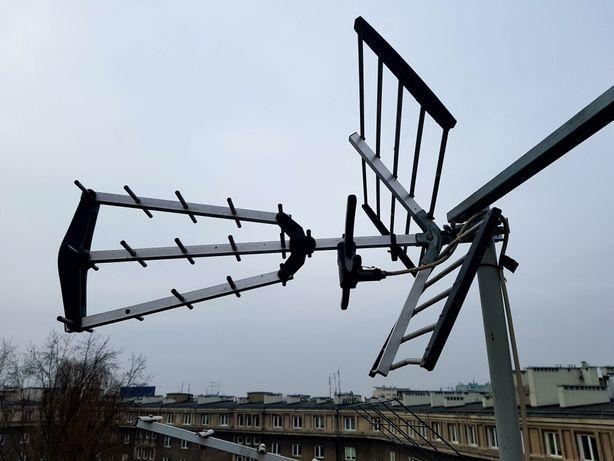 Antena DVB-T Dipol Możliwość Montażu SERWISU