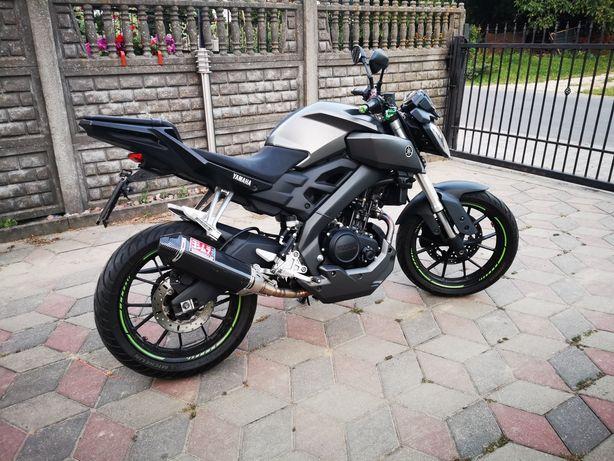 Yamaha MT125 KAT.B A1 2014r.