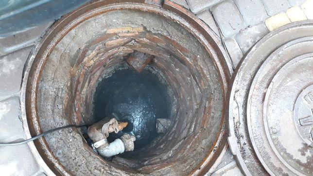 Чистка коллекторов.чистка сливных ям. Чистка выгребных ям ремонт