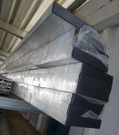 Régua de Alumínio de Pedreiro Reforçada - Novo
