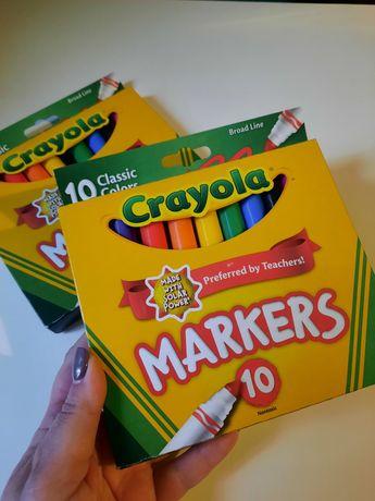 Маркеры фломастеры Crayola