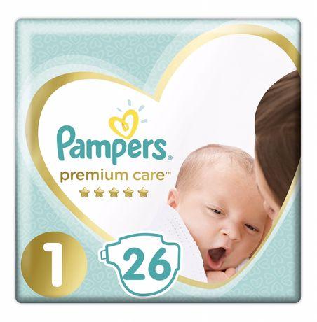 Дешево Pampers Premium Care 1 (2-5кг) 26шт