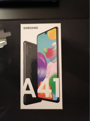 Samsung A41 64 GB Prism Crush Black
