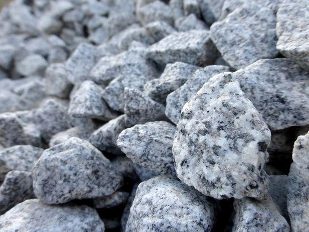 Grys Granitowy ogrodowy ozdobny Kamień Kostka Granitowa Ogród GRANIT